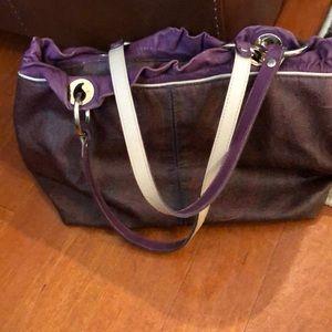 Authentic Etro rainbow paisley bag